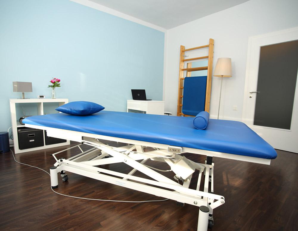 Behandlungsraum Physioeffekt • Praxis für Physiotherapie Paderborn • Krankengymnastik Paderborn • Wellness und Massage Paderborn • Claudia Lüke