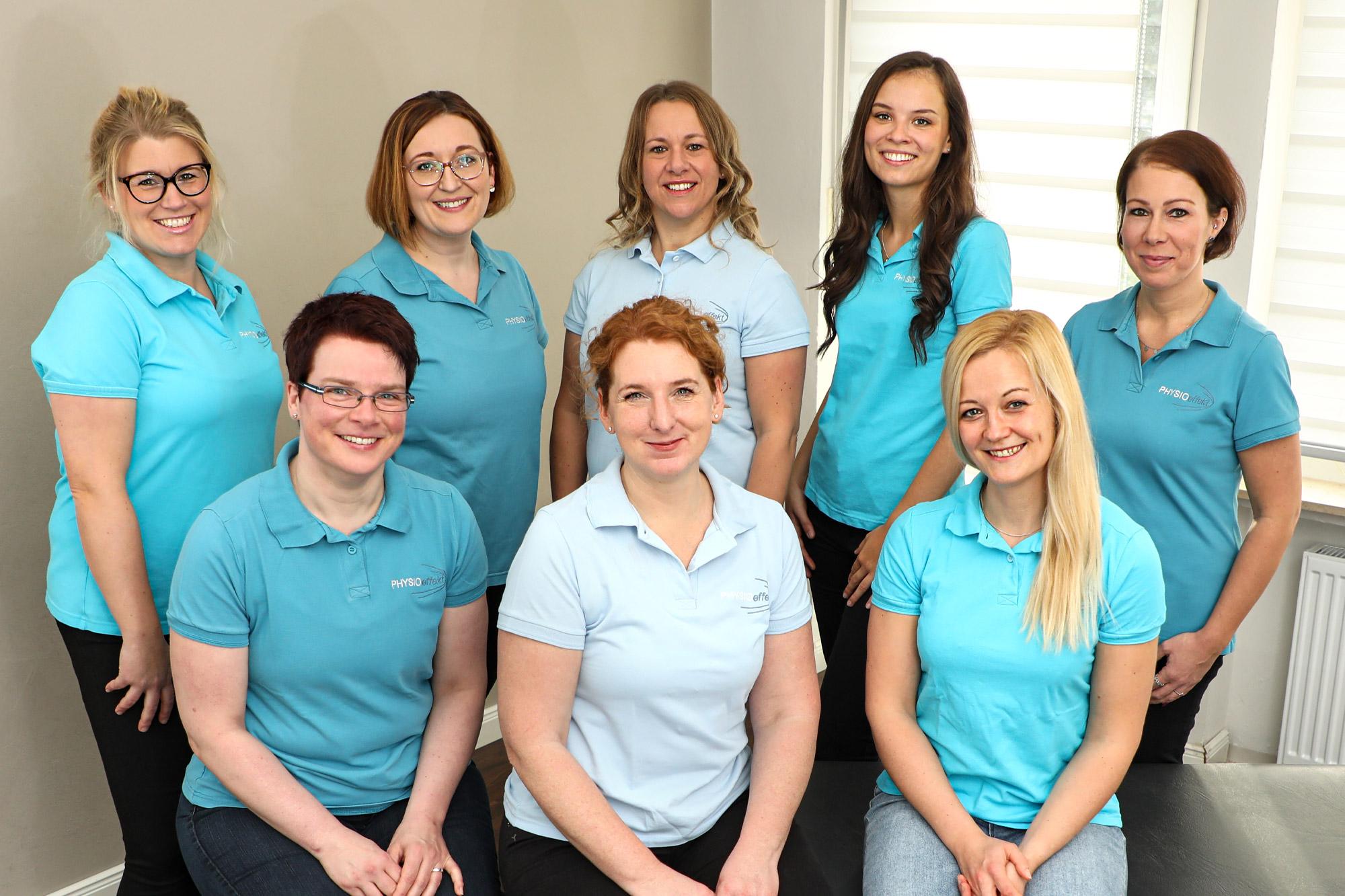 Team Physioeffekt • Praxis für Physiotherapie Paderborn • Krankengymnastik Paderborn • Wellness und Massage Paderborn • Claudia Lüke